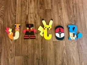 5 Pokemon - Jacob