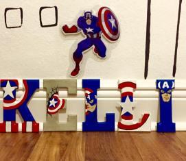 """5"""" Avengers Captain America - Kelli"""