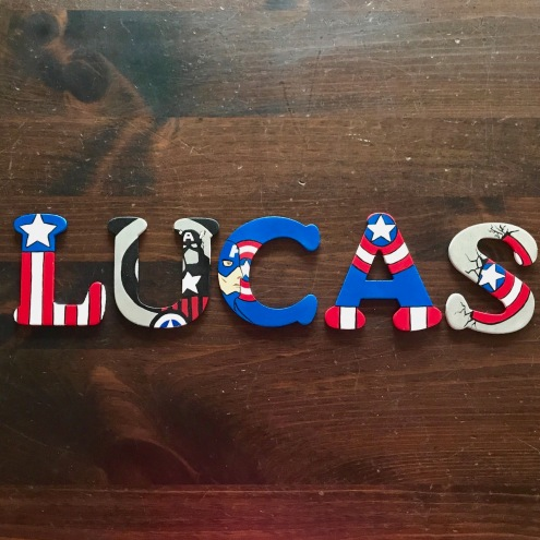 """4"""" Avengers Captain America - Lucas"""