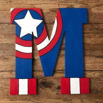 """13"""" Avengers Captain America - M"""