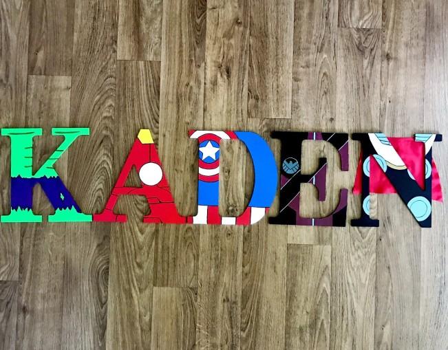 """9.5"""" Avengers - Kaden"""