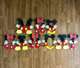 "9.5"" Mickey & Minnie Mouse - Mrs Garcia"