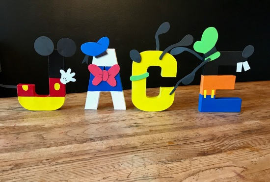 """8"""" Stand Alone Mickey Mouse Clubhouse - Jace"""