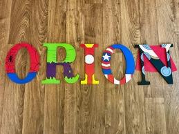 """9.5"""" Avengers - Orion"""
