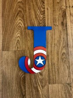 """9.5"""" Avengers Captain America - J"""